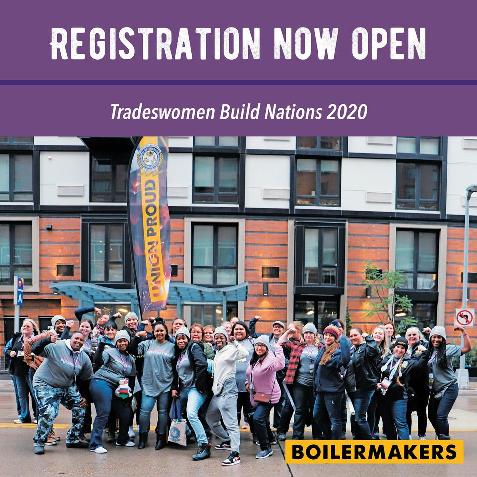 Registration trades woman build nation